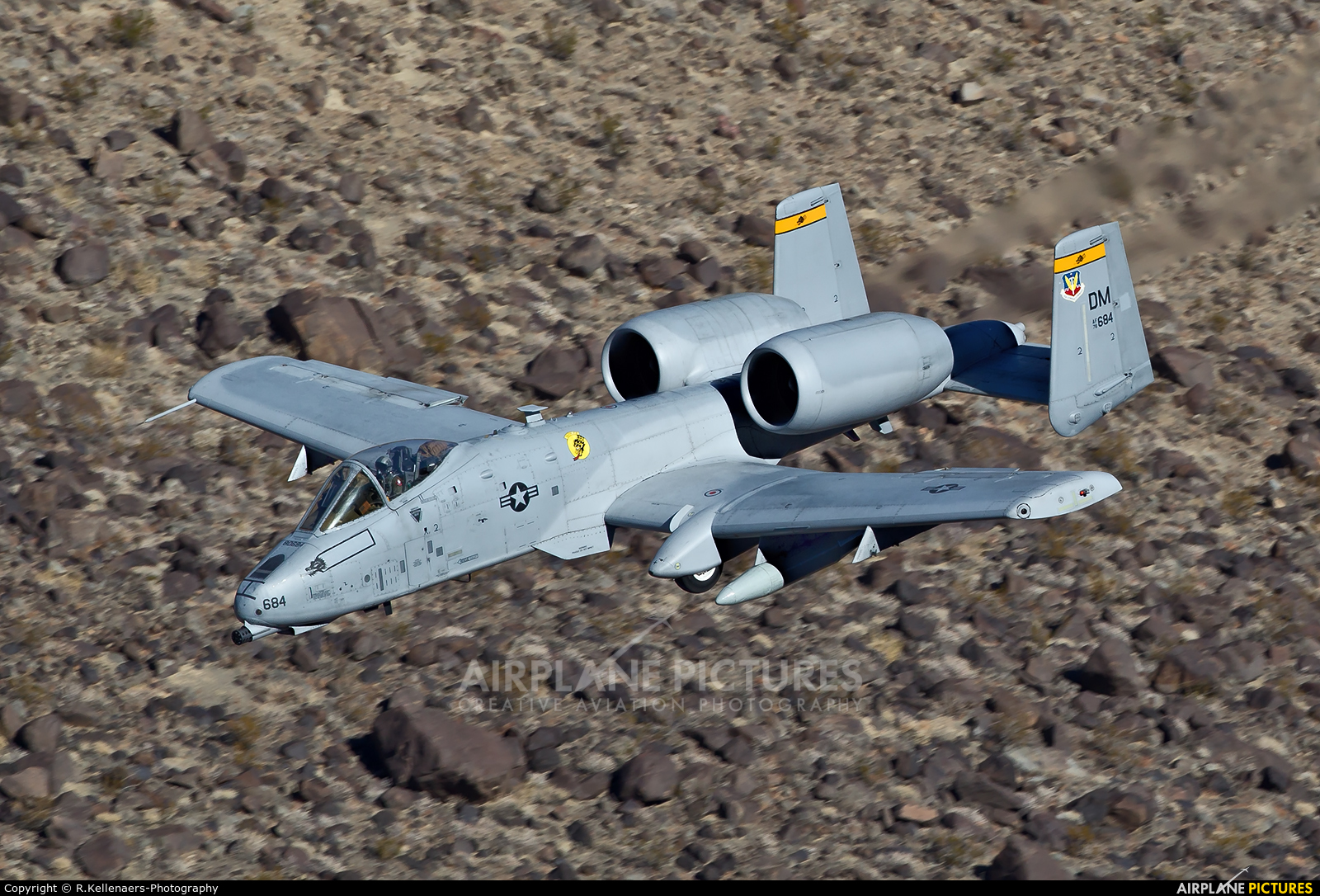 USA - Air Force 78-0684 aircraft at Rainbow Canyon - Off Airport