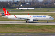 TC-JTJ - Turkish Airlines Airbus A321 aircraft