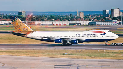 G-BDXO - British Airways Boeing 747-200