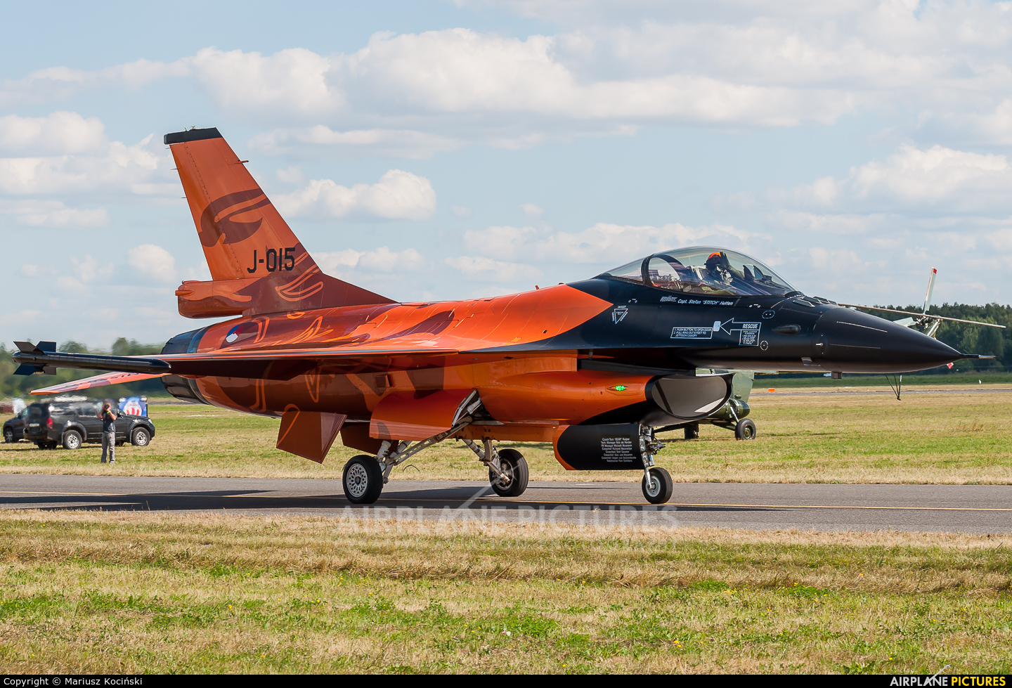 Netherlands - Air Force J-015 aircraft at Radom - Sadków