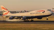 G-BYGG - British Airways Boeing 747-400 aircraft