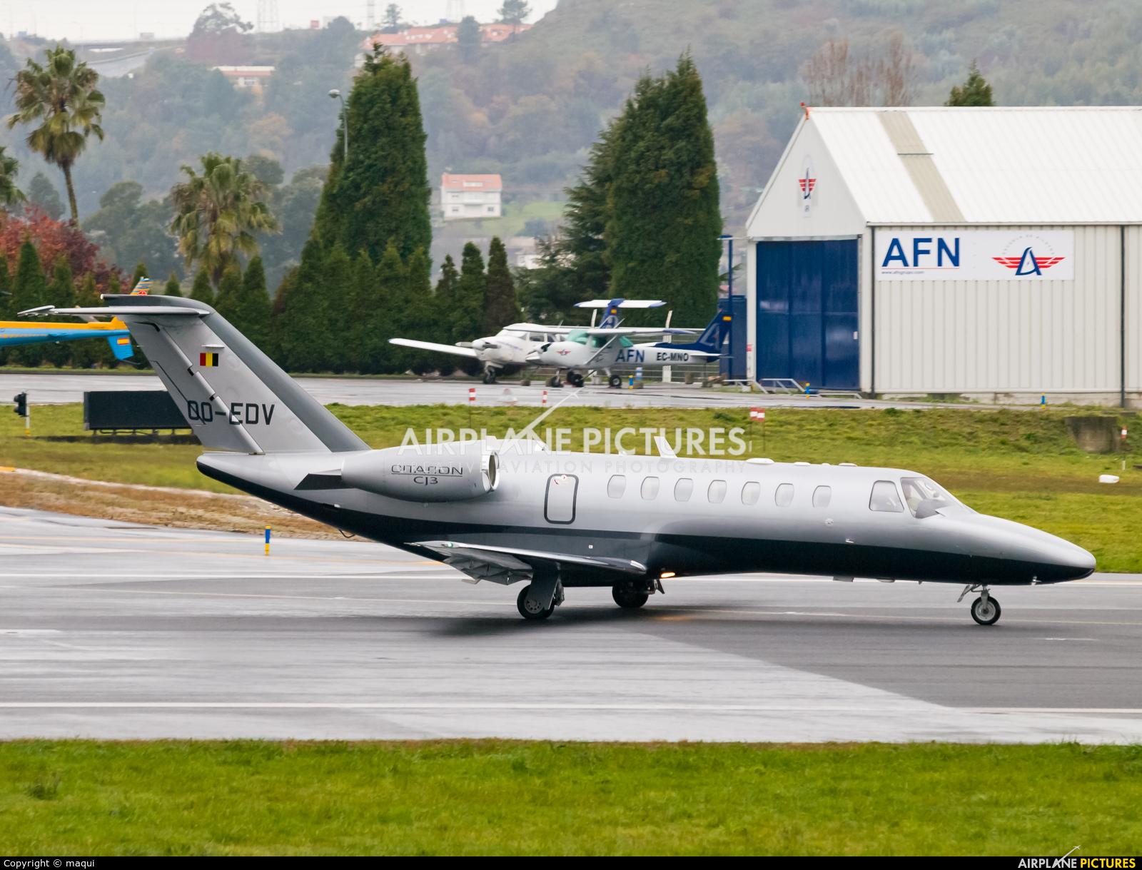 Air Service Liege OO-EDV aircraft at La Coruña