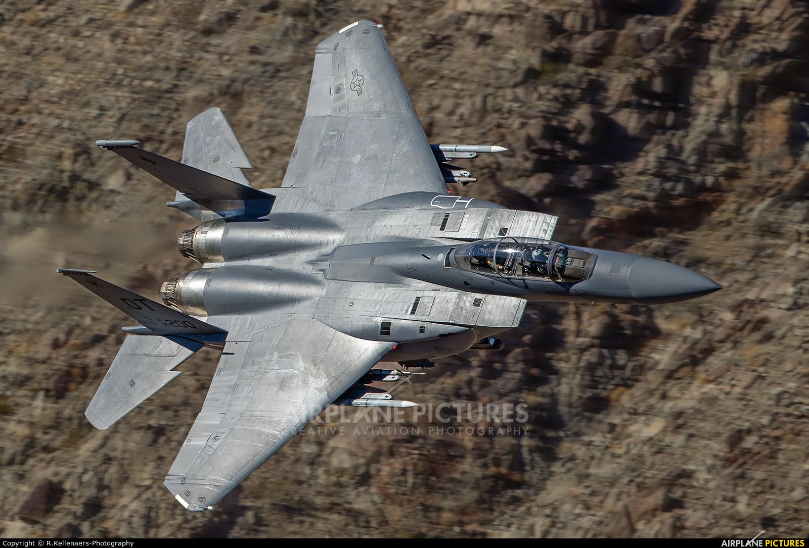 USA - Air Force 96-0200 aircraft at Rainbow Canyon - Off Airport