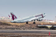A7-LAF - Qatar Airways Airbus A320 aircraft