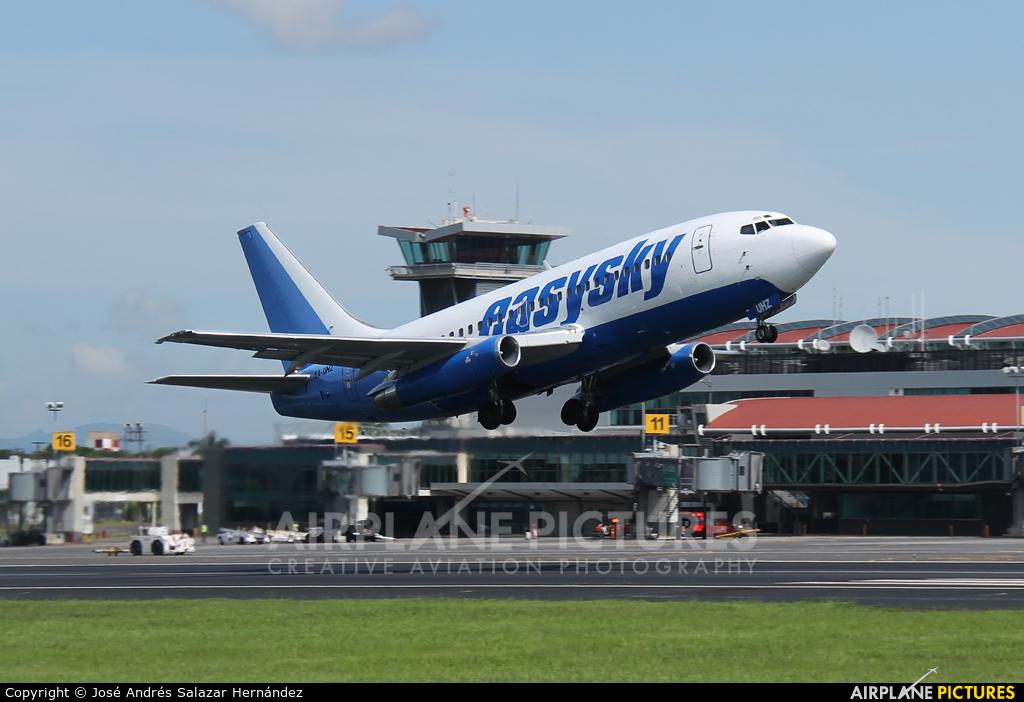 EasySky Airlines XA-UHZ aircraft at San Jose - Juan Santamaría Intl