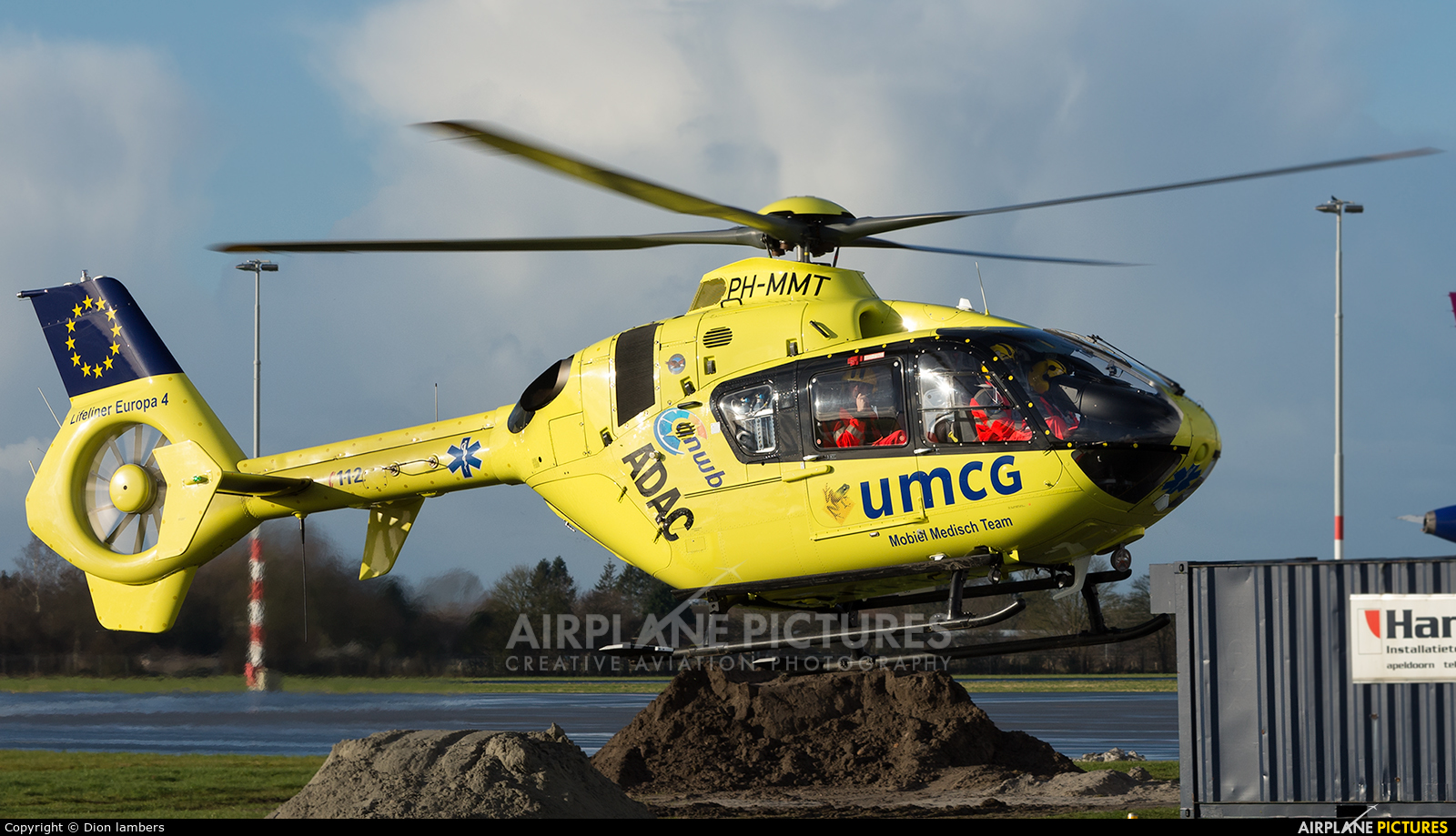 ANWB Medical Air Assistance PH-MMT aircraft at Groningen - Eelde