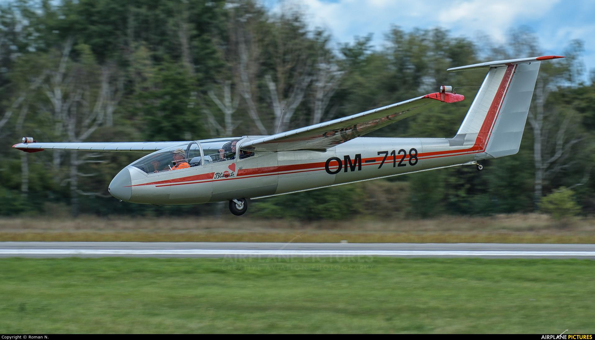 Očovskí bačovia Team OM-7128 aircraft at Hradec Králové