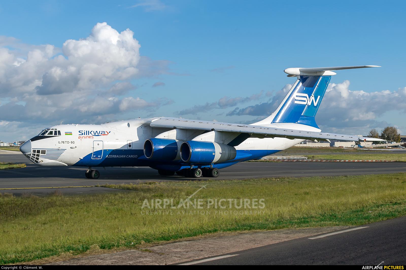 Silk Way Airlines 4K-AZ101 aircraft at Paris - Charles de Gaulle