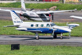 HK-4651-G - Private Piper PA-31T Cheyenne