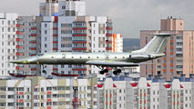 Russian Navy Tupolev Tu-134 visits Minsk title=