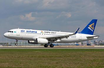 P4-KBC - Air Astana Airbus A320