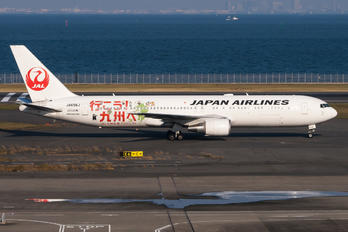 JA656J - JAL - Japan Airlines Boeing 767-300ER