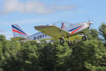 G-CEYY - Private Evektor-Aerotechnik EV-97 Eurostar
