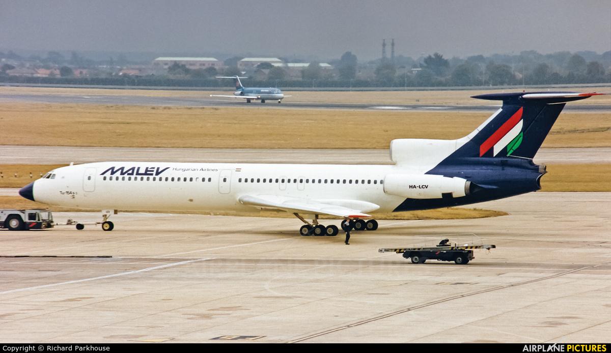 Malev HA-LCV aircraft at London - Heathrow