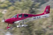 HB-KJB - Private Cirrus SR22 aircraft
