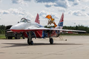 "30 - Russia - Air Force ""Strizhi"" Mikoyan-Gurevich MiG-29 aircraft"