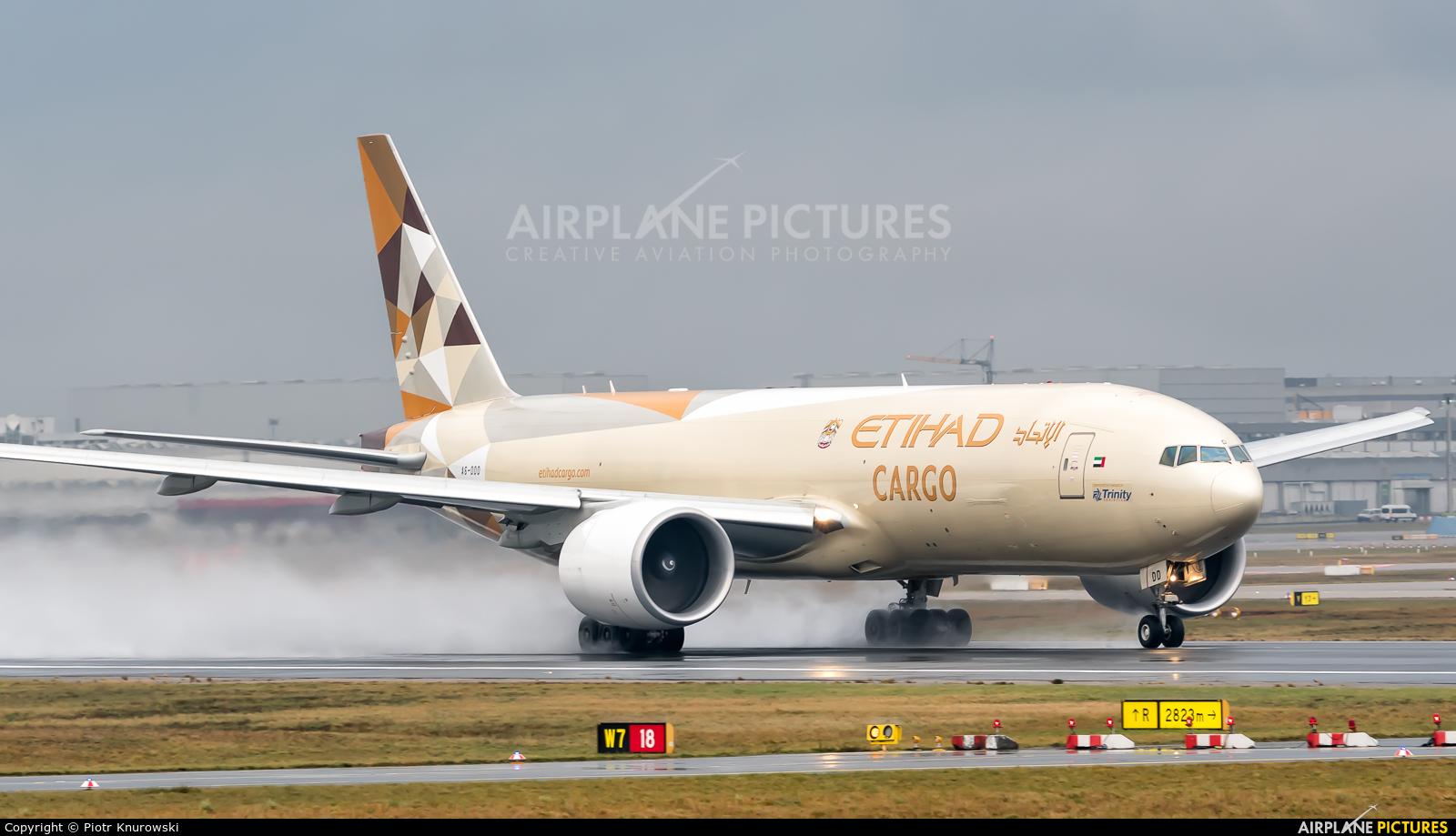 Etihad Cargo A6-DDD aircraft at