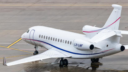 LX-LMF - Global Jet Luxembourg Dassault Falcon 7X