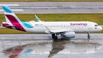 D-AEWL - Eurowings Airbus A320 aircraft