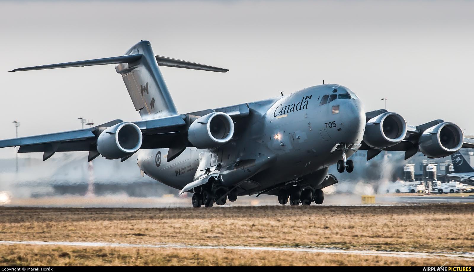 Canada - Air Force 177705 aircraft at Prague - Václav Havel