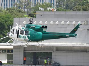 PNC0488 - Colombia - Police Bell 212