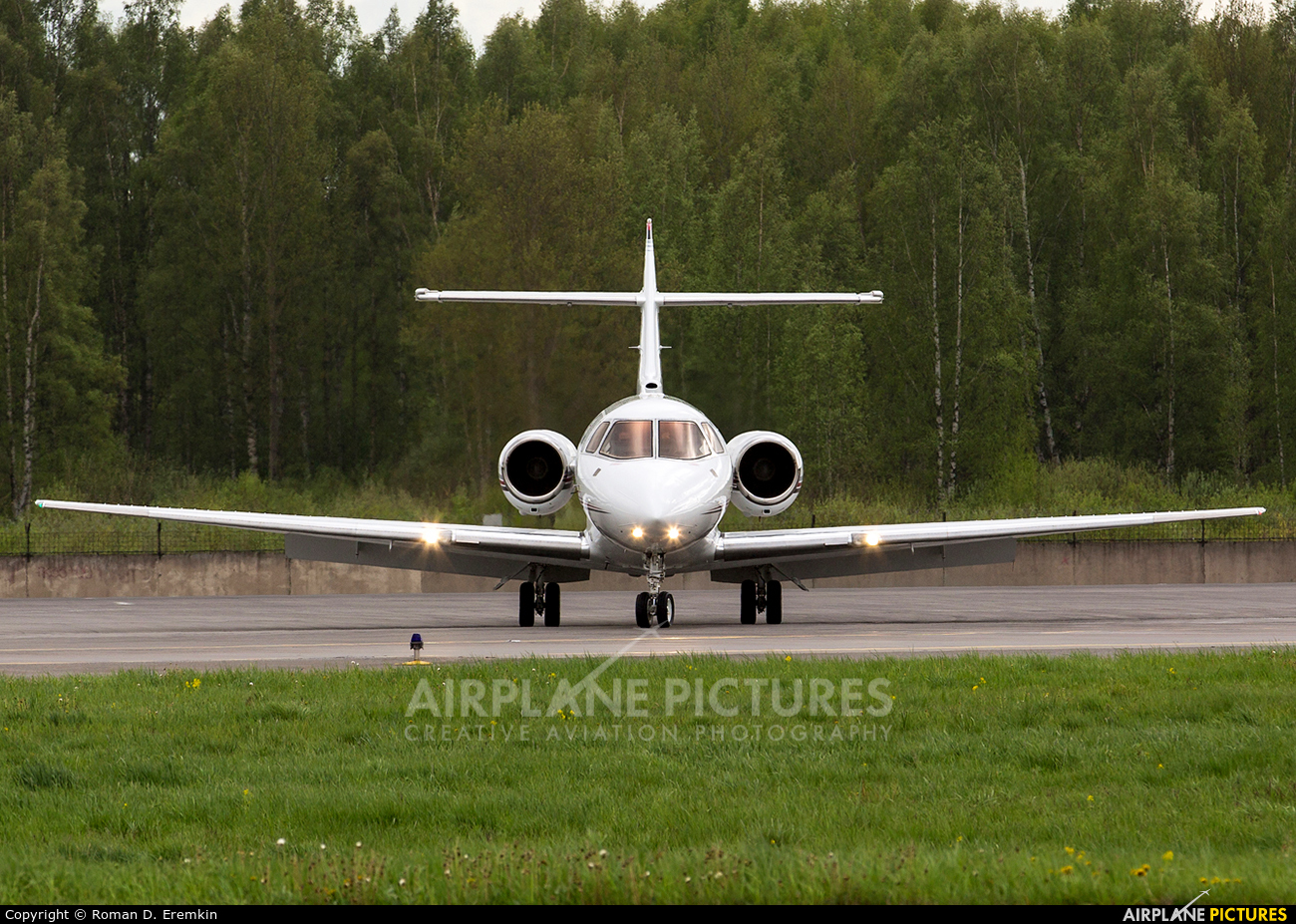 NetJets Europe (Portugal) CS-DRY aircraft at St. Petersburg - Pulkovo