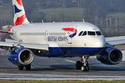 G-EUPA - British Airways Airbus A319 aircraft