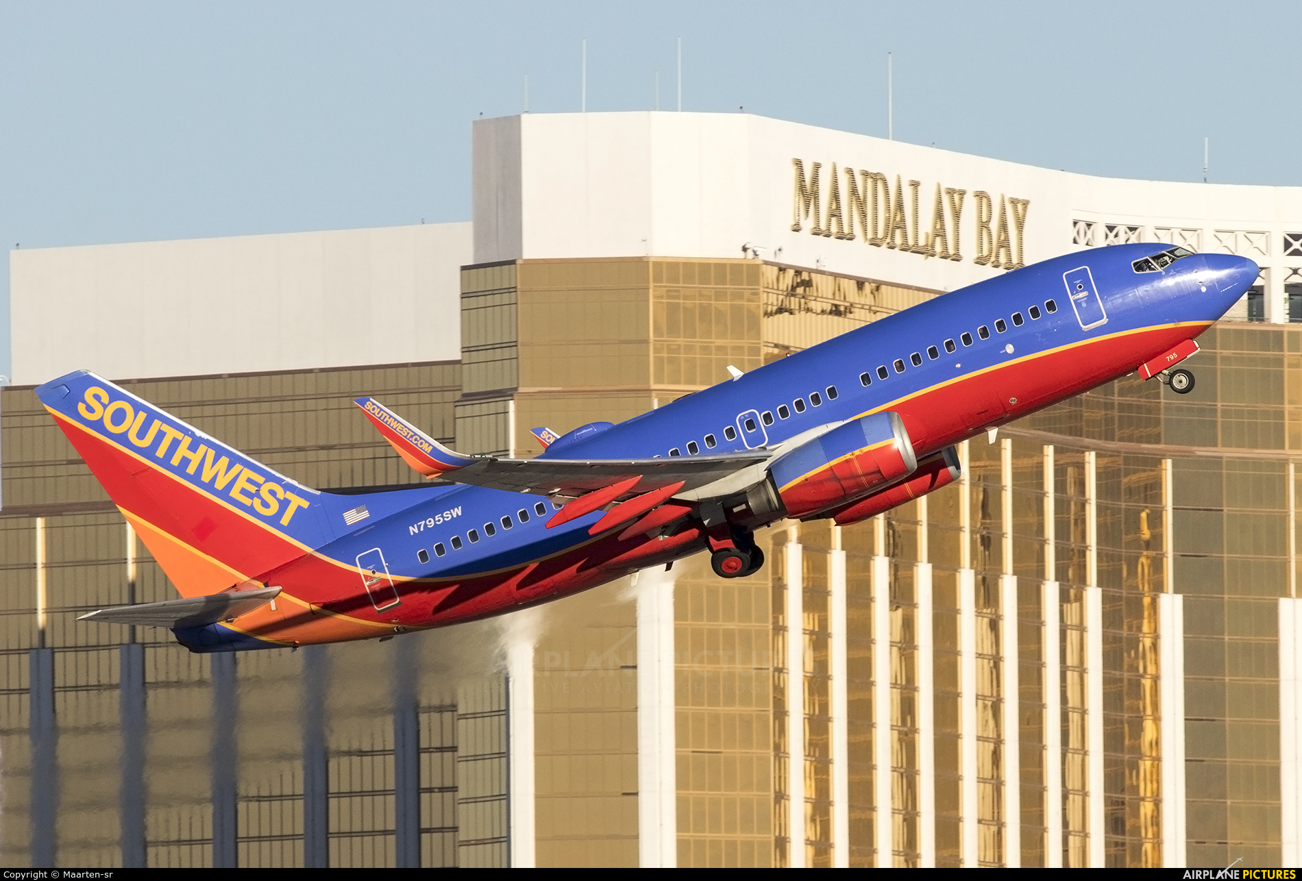 Southwest Airlines N795SW aircraft at Las Vegas - McCarran Intl