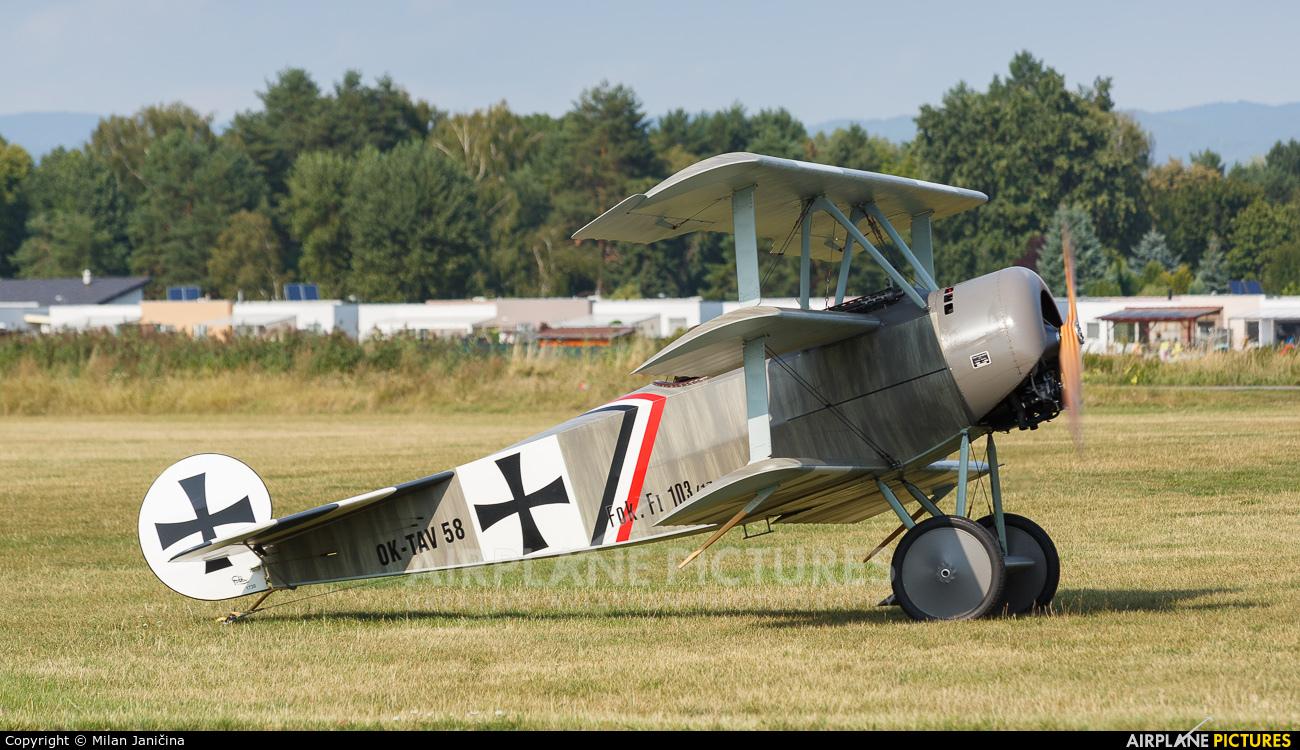 Private OK-TAV58 aircraft at Prievidza