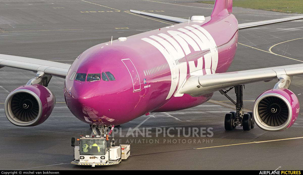 WOW Air TF-WOW aircraft at Amsterdam - Schiphol