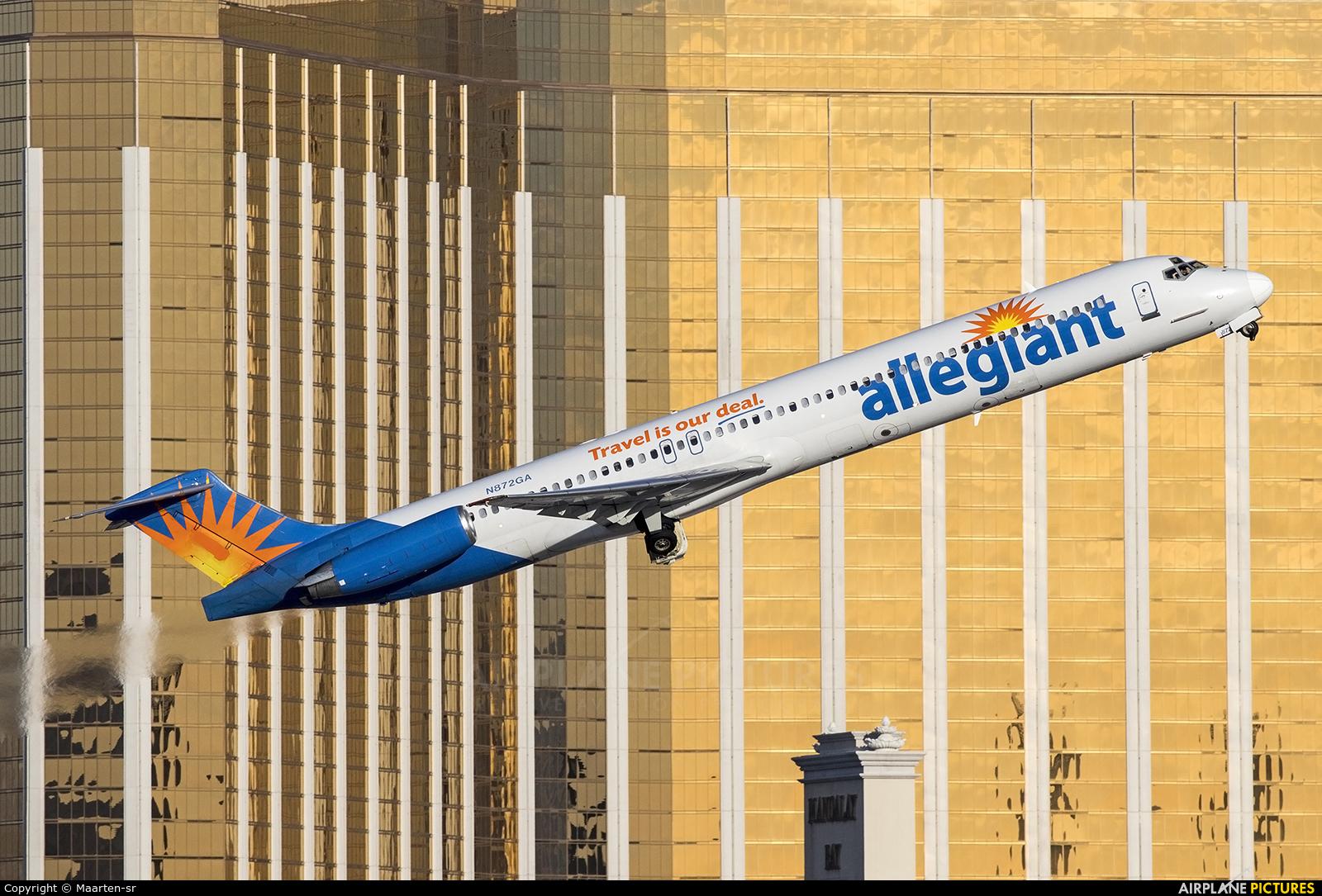 Allegiant Air N872GA aircraft at Las Vegas - McCarran Intl
