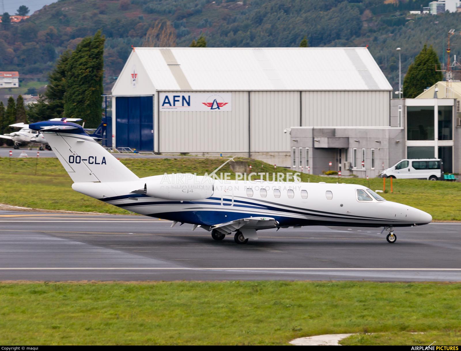 Luxaviation OO-CLA aircraft at La Coruña