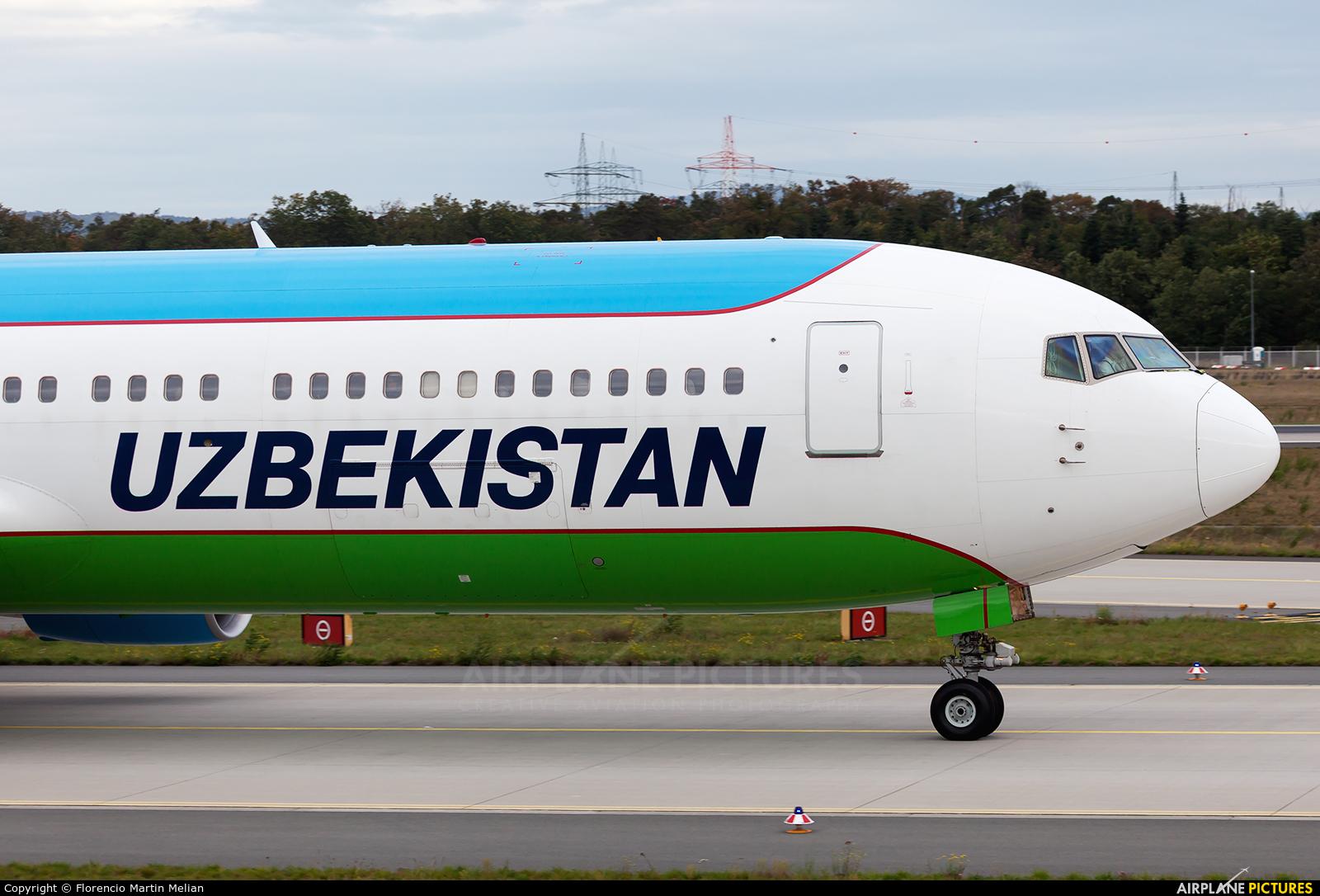 Uzbekistan Airways UK67004 aircraft at Frankfurt