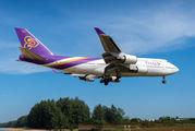 HS-TGY - Thai Airways Boeing 747-400 aircraft