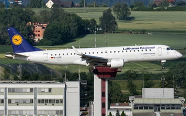 D-AECD - Lufthansa Regional - CityLine Embraer ERJ-190 (190-100)