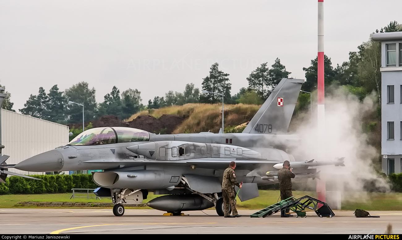 Poland - Air Force 4078 aircraft at Łask AB