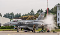 4078 - Poland - Air Force Lockheed Martin F-16D Jastrząb aircraft