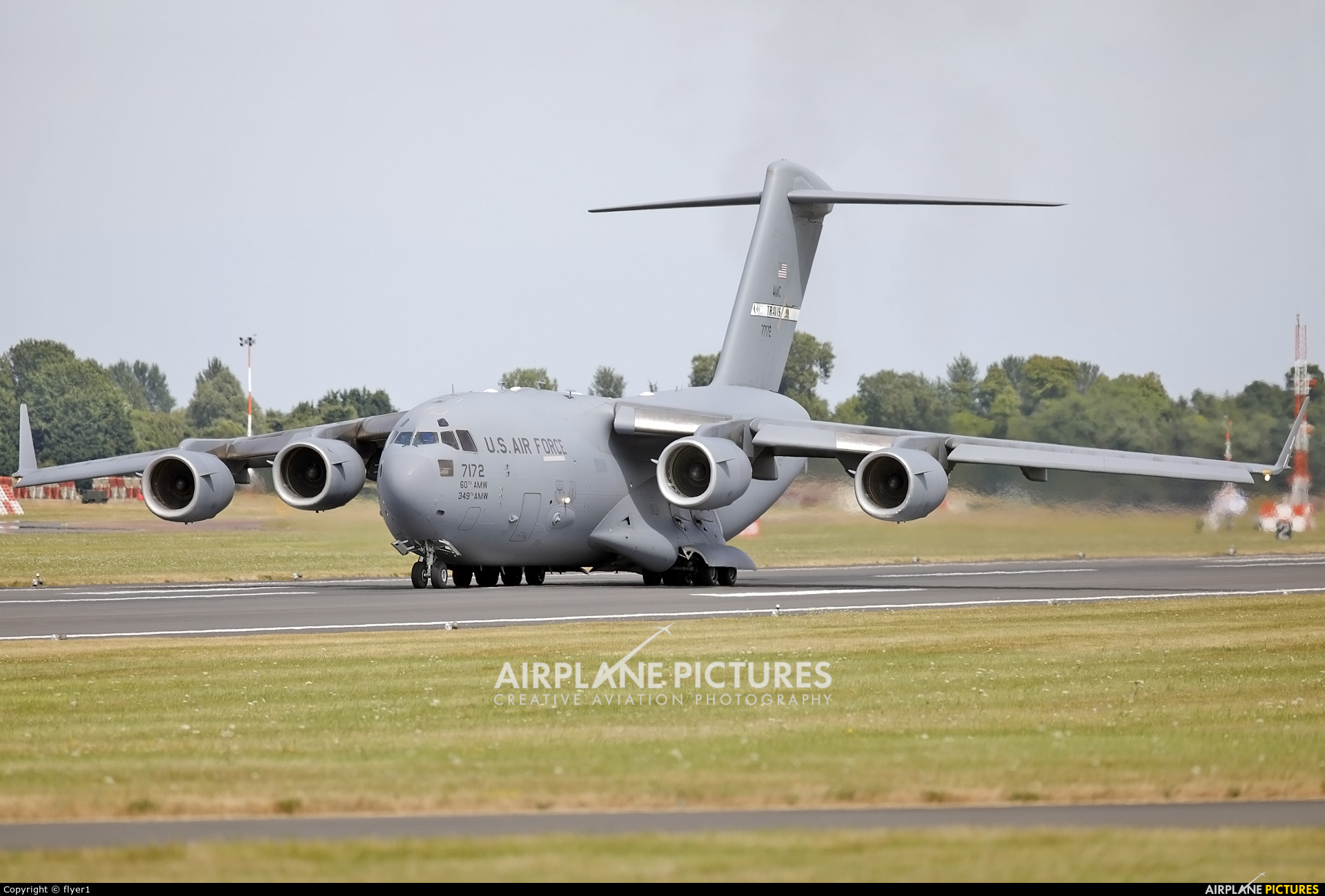 USA - Air Force 07-7172 aircraft at Fairford