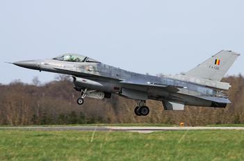 FA-130 - Belgium - Air Force General Dynamics F-16A Fighting Falcon