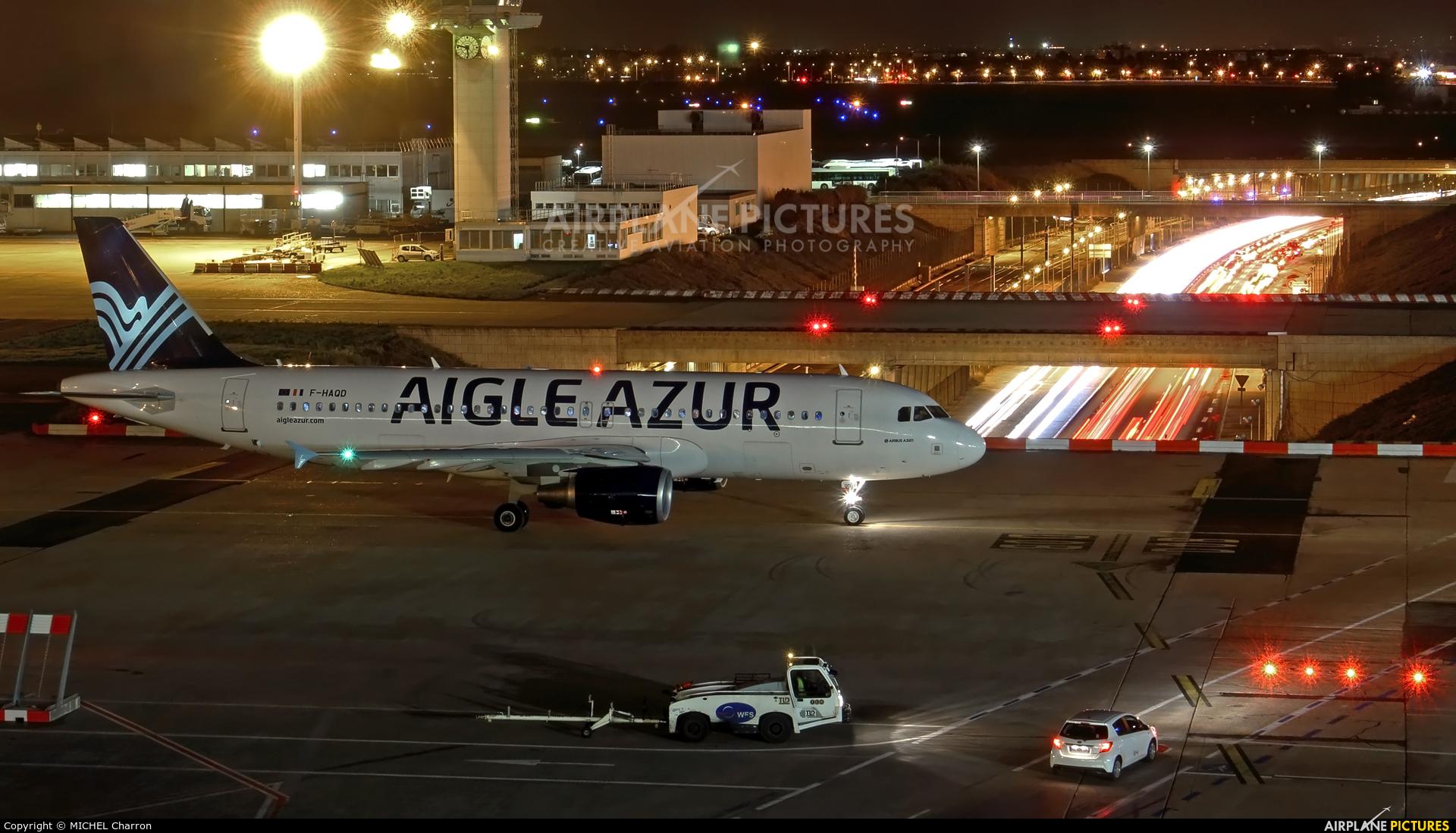 Aigle Azur F-HAQD aircraft at Paris - Orly