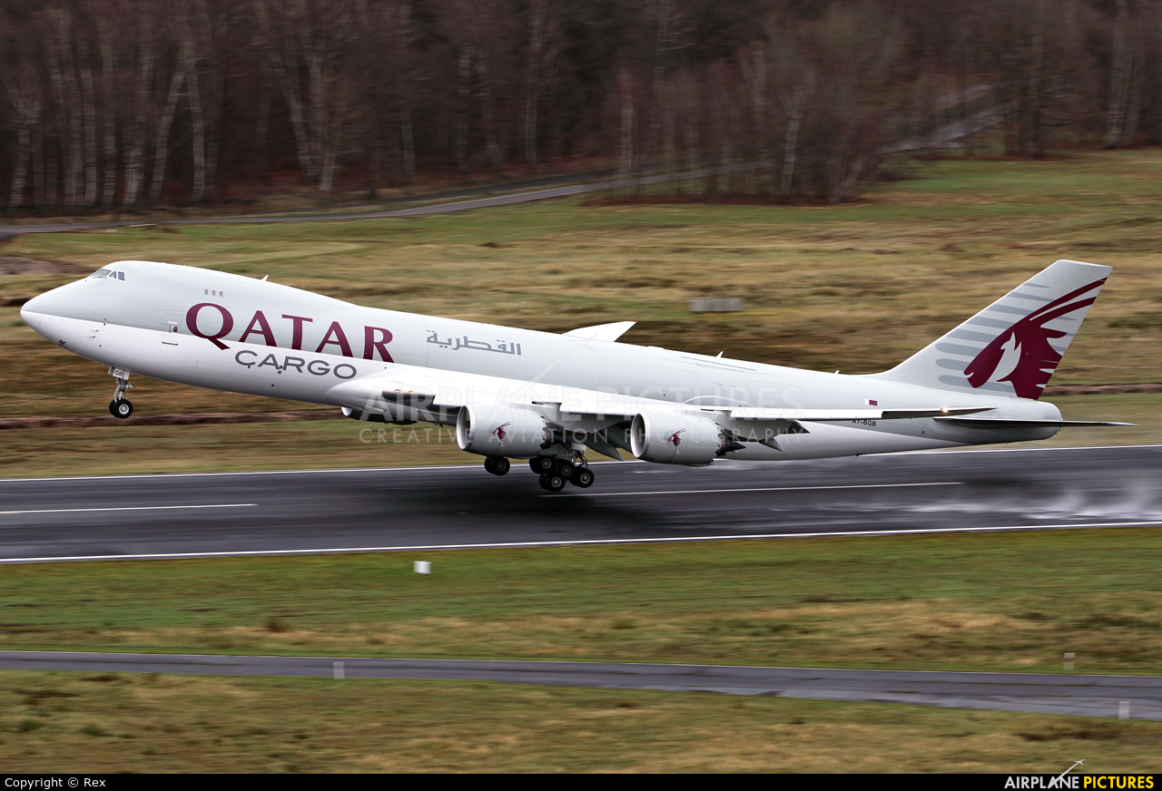 Qatar Airways Cargo A7-BGB aircraft at Cologne Bonn - Konrad Adenauer