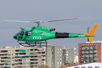 EC-MCM - Spain - Catalunya - Dept. of Interior Aerospatiale AS350 Ecureuil / Squirrel