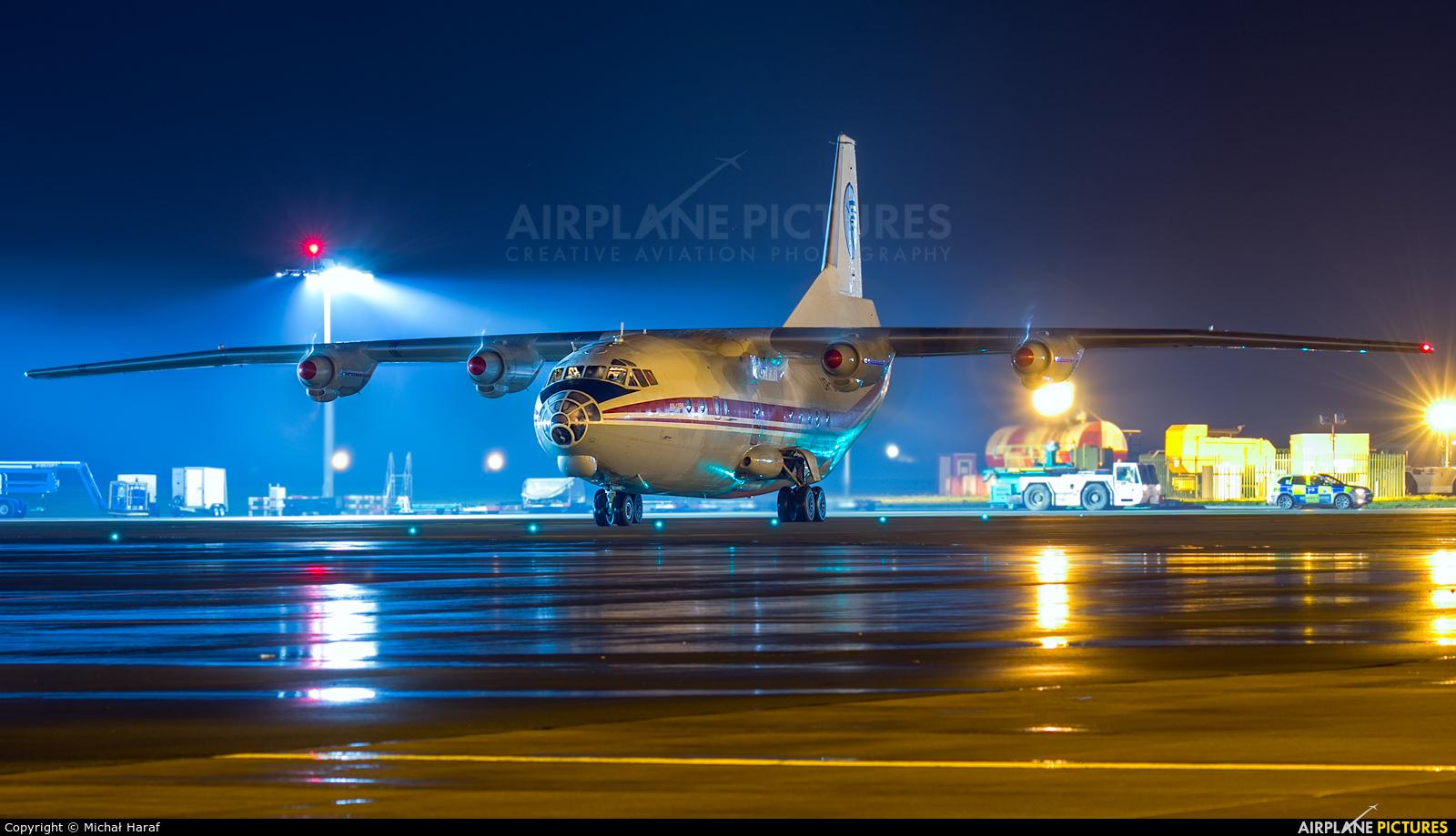 Meridian Aviation UR-CAJ aircraft at Dublin
