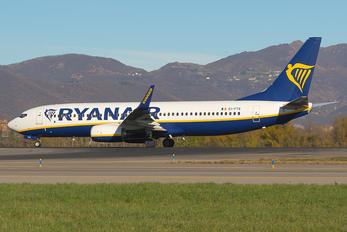 EI-FTS - Ryanair Boeing 737-8AS