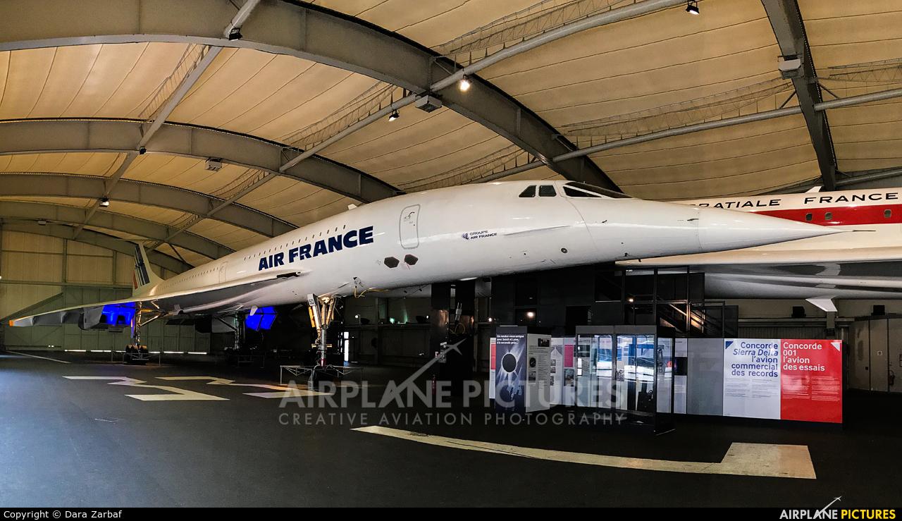 Air France F-BTSD aircraft at Paris - Le Bourget