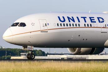 N27959 - United Airlines Boeing 787-9 Dreamliner
