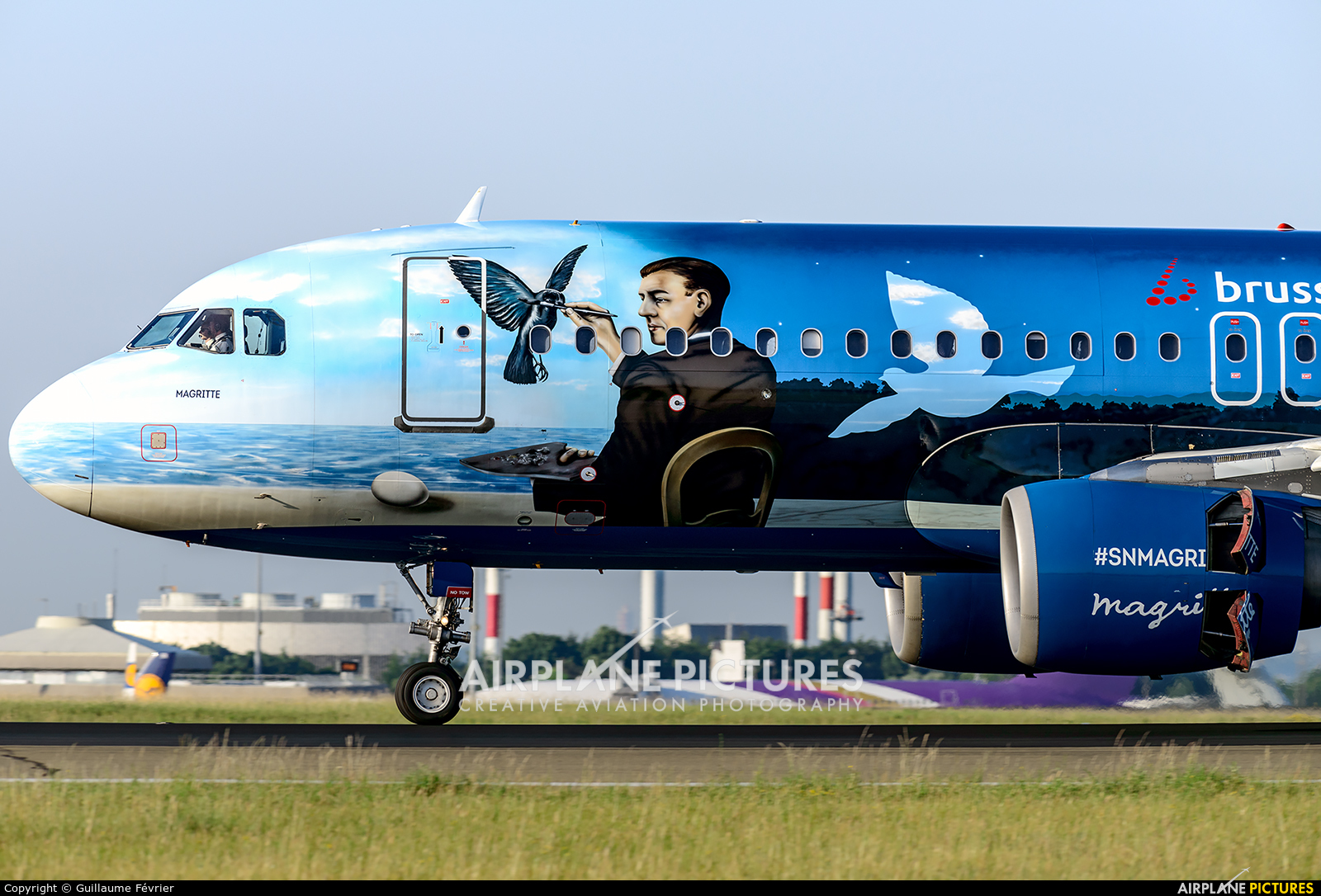 Brussels Airlines OO-SNC aircraft at Paris - Charles de Gaulle