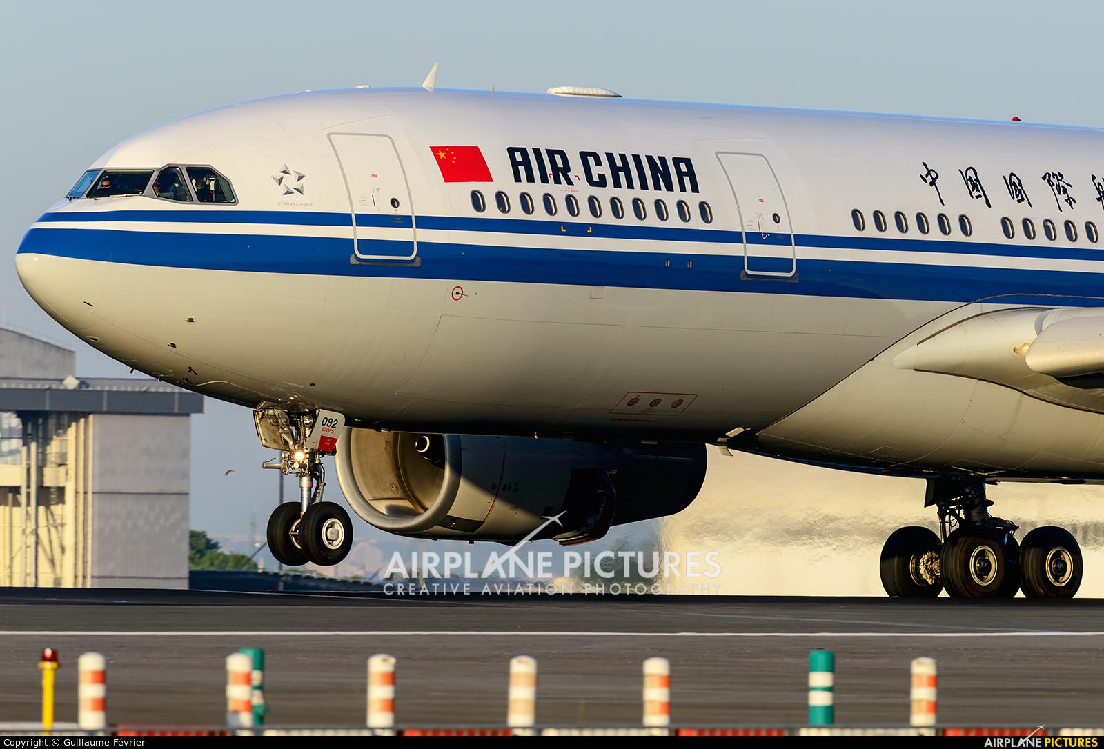 Air China B-6092 aircraft at Paris - Charles de Gaulle