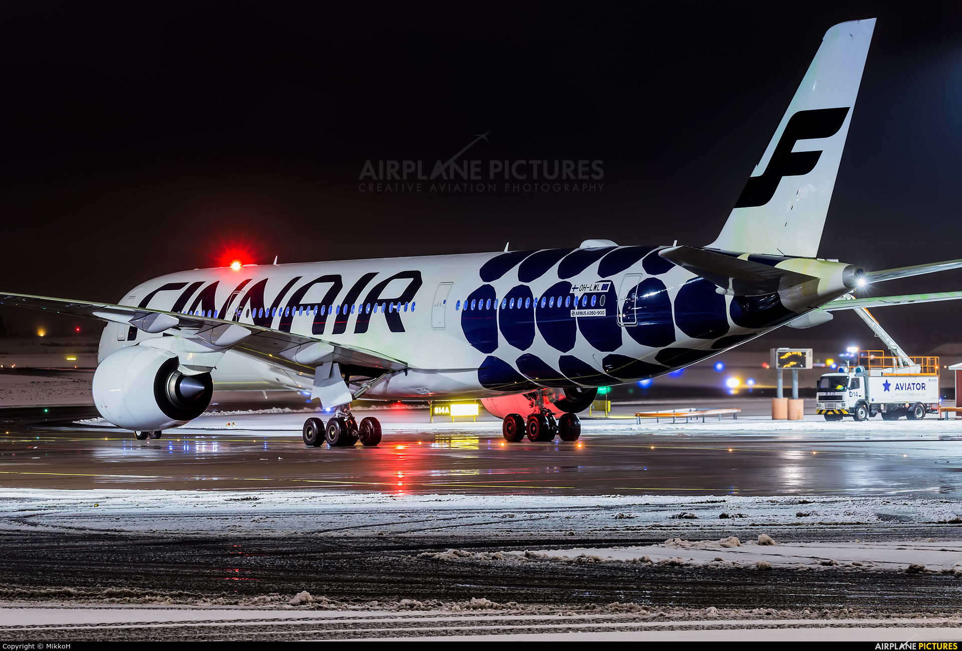 Finnair OH-LWL aircraft at Helsinki - Vantaa