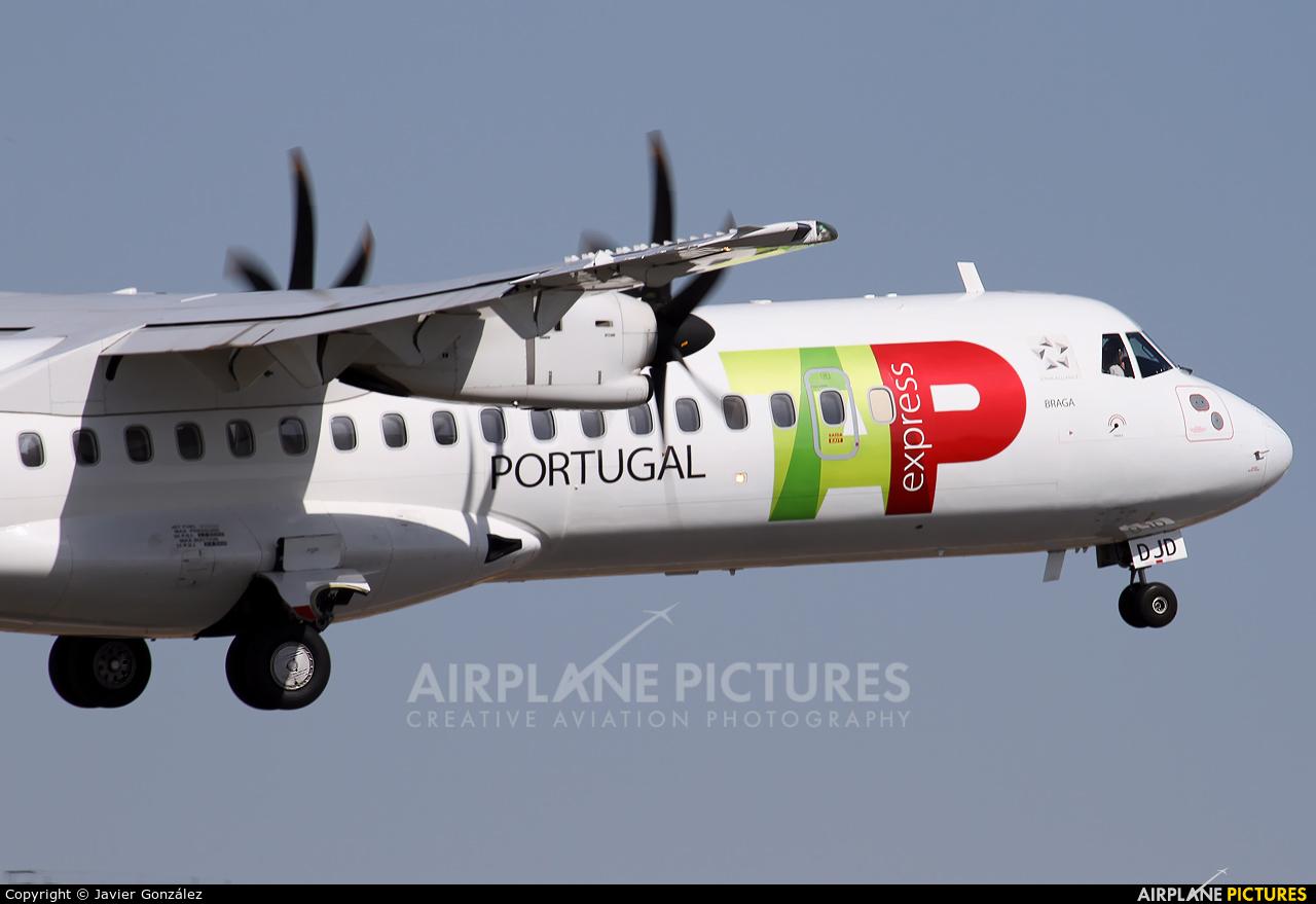 TAP Express CS-DJD aircraft at Alicante - El Altet